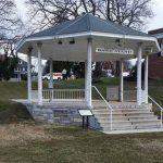 bandstand gazebo angled view