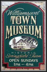 town museum plack
