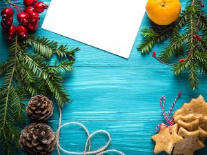 christmas ornaments on a table